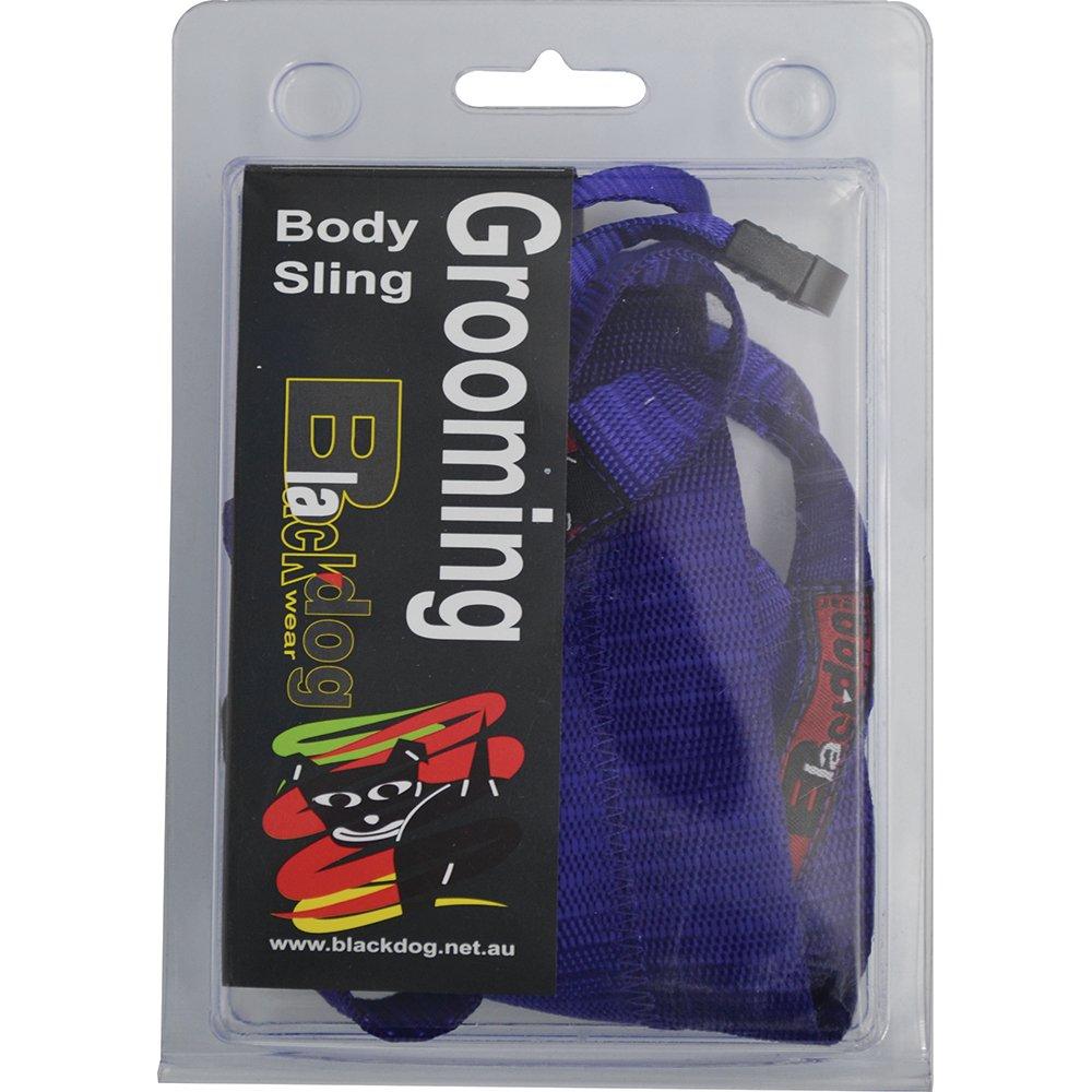 blackdog grooming body sling purple   110 grooming products grooming