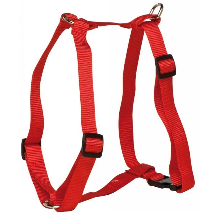 "Prestige 3/4"" DOG HARNESS ADJ 16-26"" (41-66cm) Red - Click to enlarge"