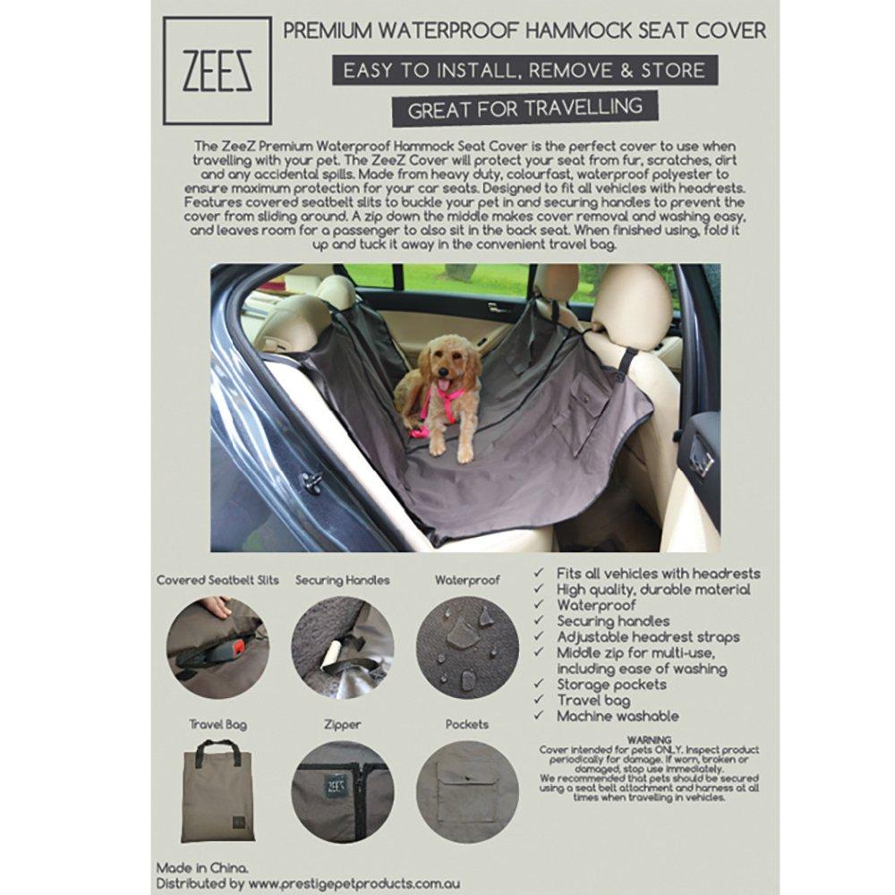 ZeeZ SEAT COVER HAMMOCK - PREMIUM WATERPROOF - 140 x 142cm