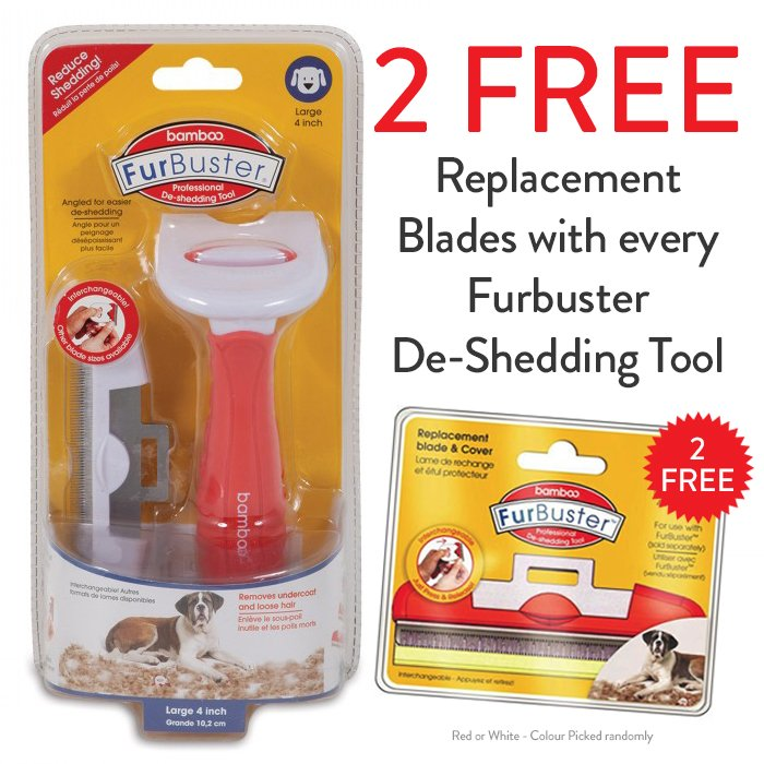 FurBuster DOG DESHEDDING TOOL - Large - Click to enlarge