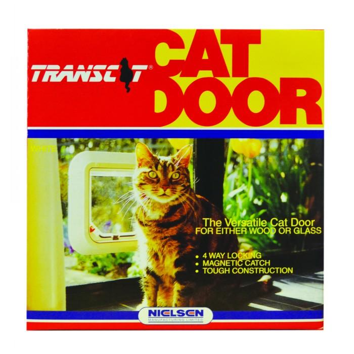 Transcat Cat Door White 280pet Doors Pet Doors Transcat Cat