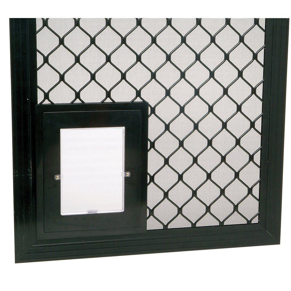 Security Screen Pet Door Black 280 Pet Doors Security