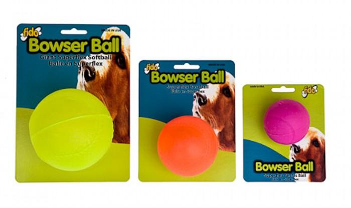 Bowser Ball Dog Toy
