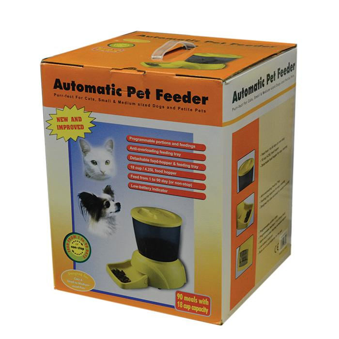 AUTOMATIC PET FEEDER For Cats & Small Dogs - Model PF-12