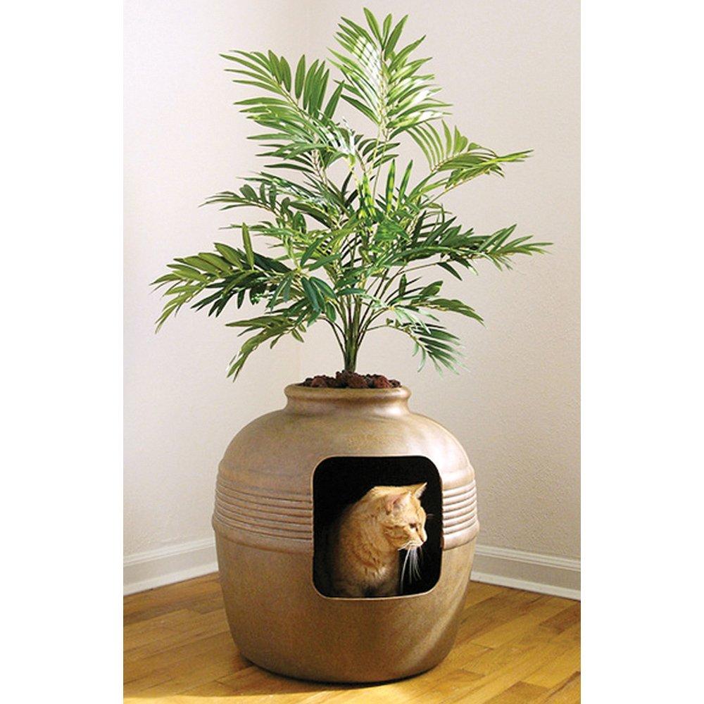 Tuscany HIDDEN CAT LITTER BOX cm48x48x36 (107cm H w/ Plant)