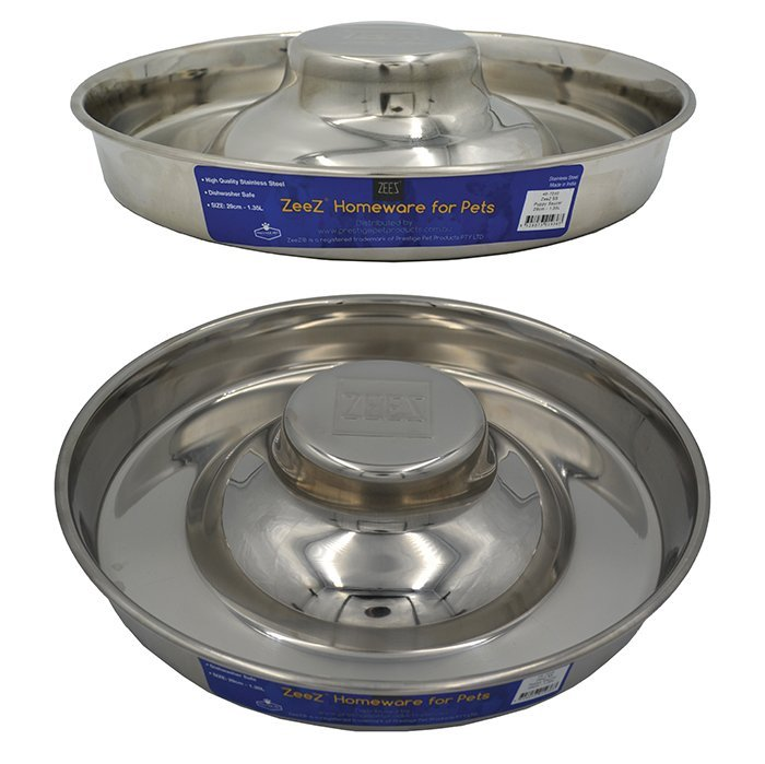 "SS PUPPY SAUCER - 15"" (38cm) - Click to enlarge"