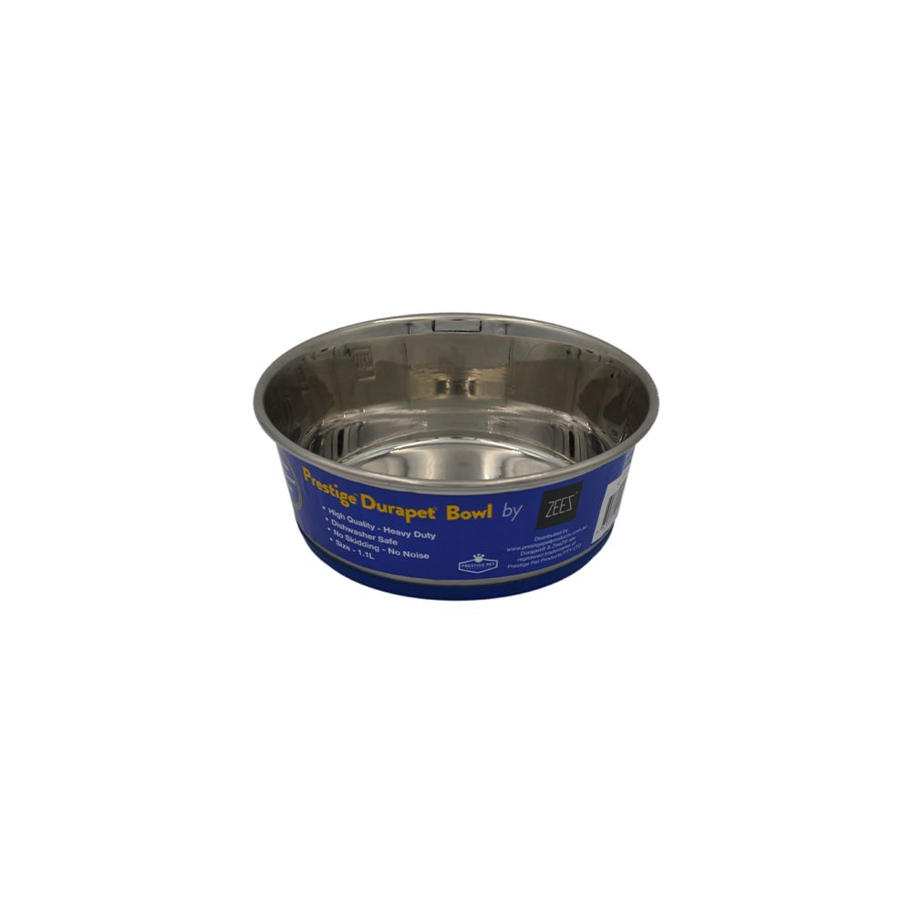 DuraPet PREMIUM SS PET BOWL 1.10Litre - Click to enlarge