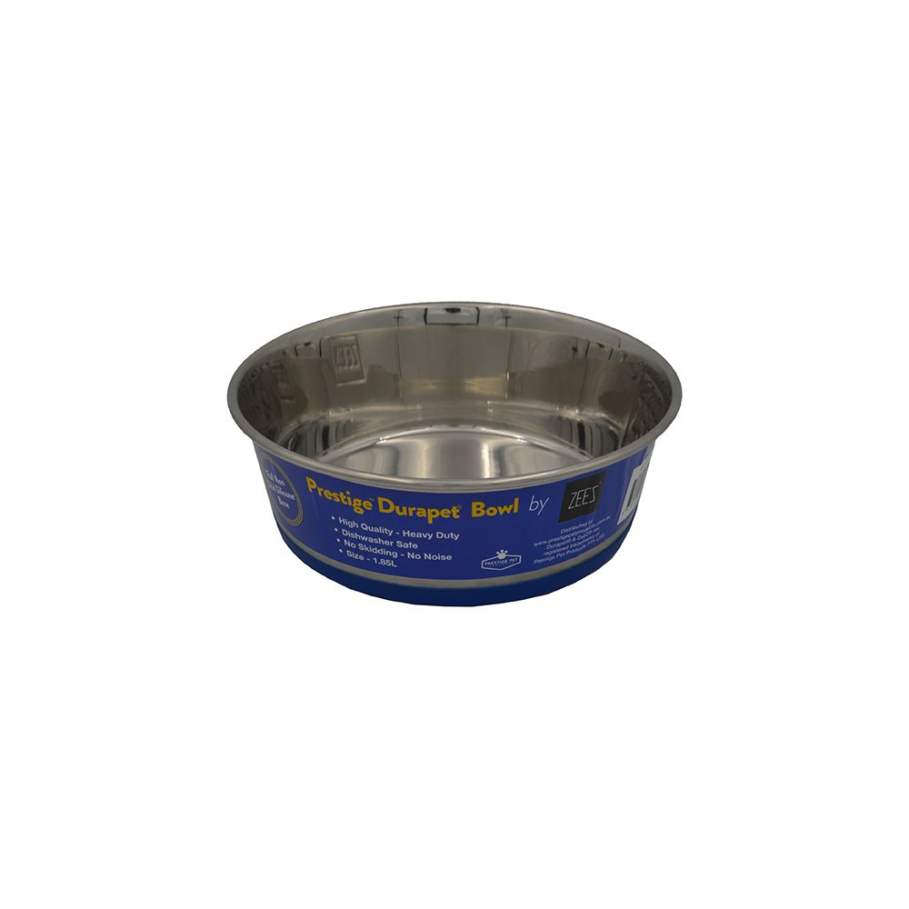 DuraPet PREMIUM SS PET BOWL 1.85Litre - Click to enlarge
