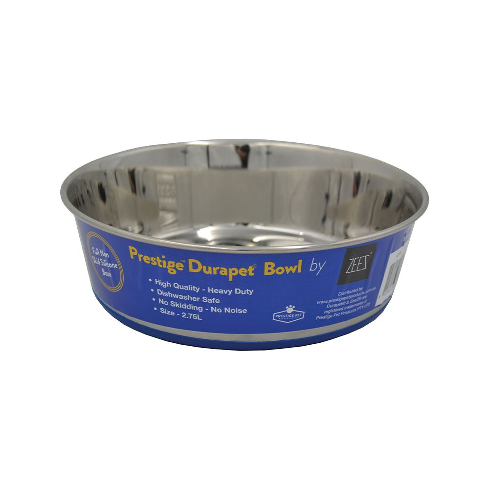 DuraPet PREMIUM SS PET BOWL 2.75Litre - Click to enlarge