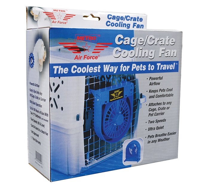 Metro CAGE/CRATE COOLING FAN (9x17x19cm) - Click to enlarge