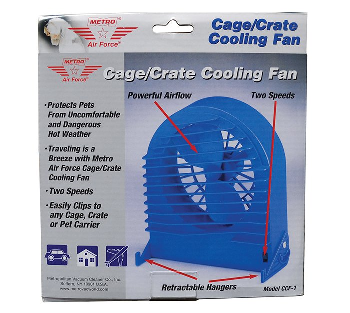 Metro CAGE/CRATE COOLING FAN (9x17x19cm)