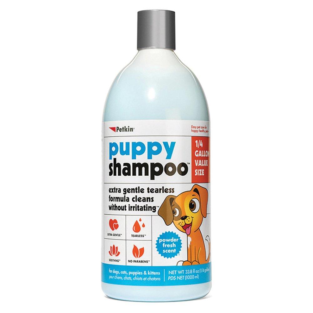 Petkin PUPPY SHAMPOO - POWDER FRESH SCENT 1L - Click to enlarge