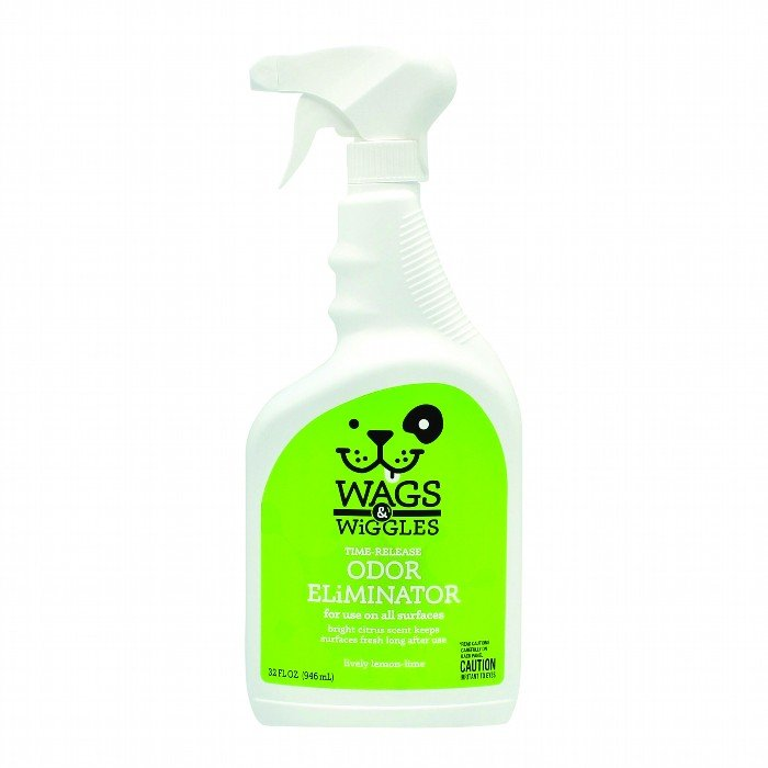 Wags & Wiggles TIME RELEASE ODOUR ELIMINATOR SPRAY - 946ml - Click to enlarge