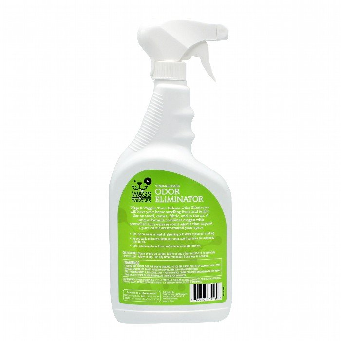 Wags & Wiggles TIME RELEASE ODOUR ELIMINATOR SPRAY - 946ml