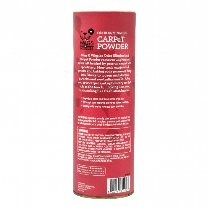 Wags & Wiggles ODOUR ELIMINATION CARPET POWDER 567g