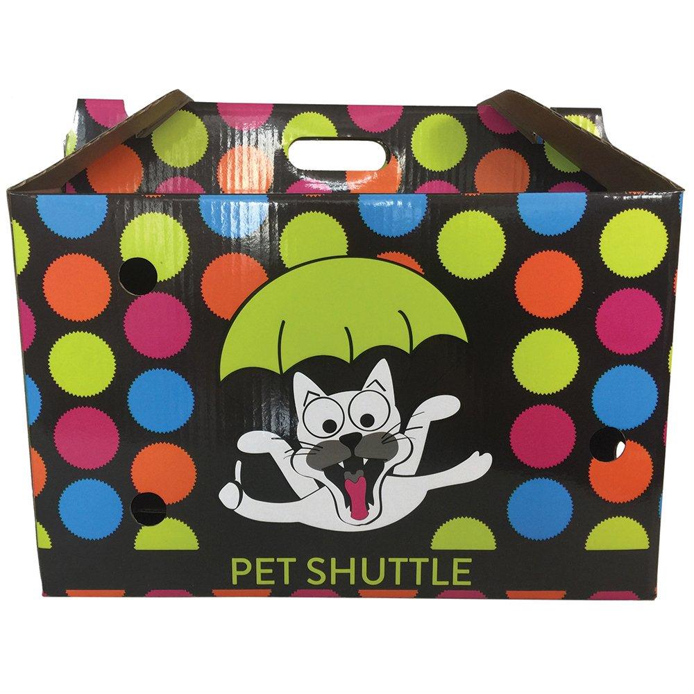 Scream CARDBOARD PET SHUTTLE 44x25x28cm Loud Multicolour