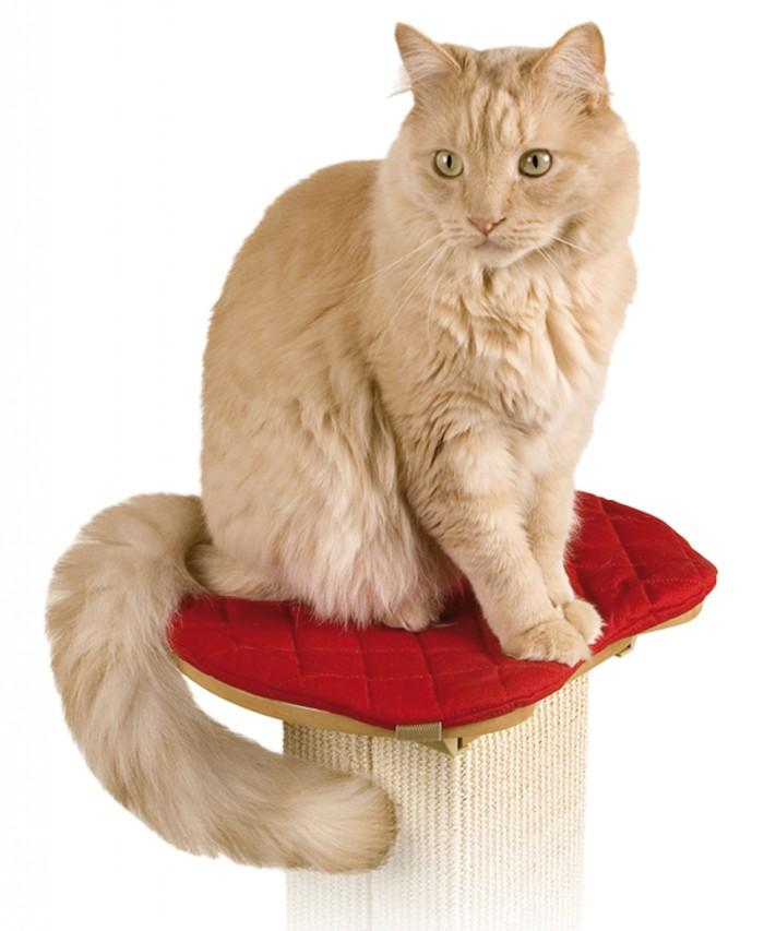 "SmartCat ULTIMATE POST PERCH 14"" x 12.5"" (36cm x 32cm) - Click to enlarge"