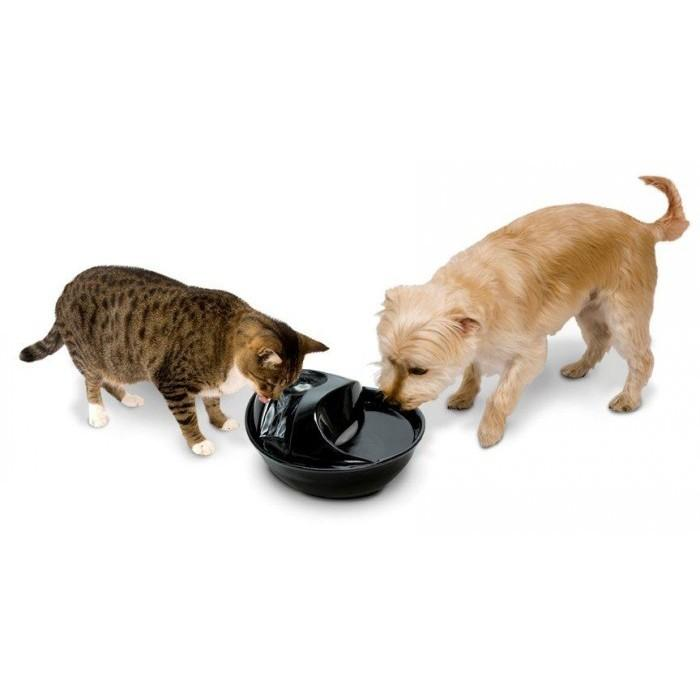 Pioneer CERAMIC PET FOUNTAIN -Raindrop Style 1.77L - Click to enlarge