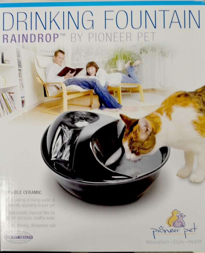 pioneer pet fountain. Pioneer CERAMIC PET FOUNTAIN -Raindrop Style Pet Fountain