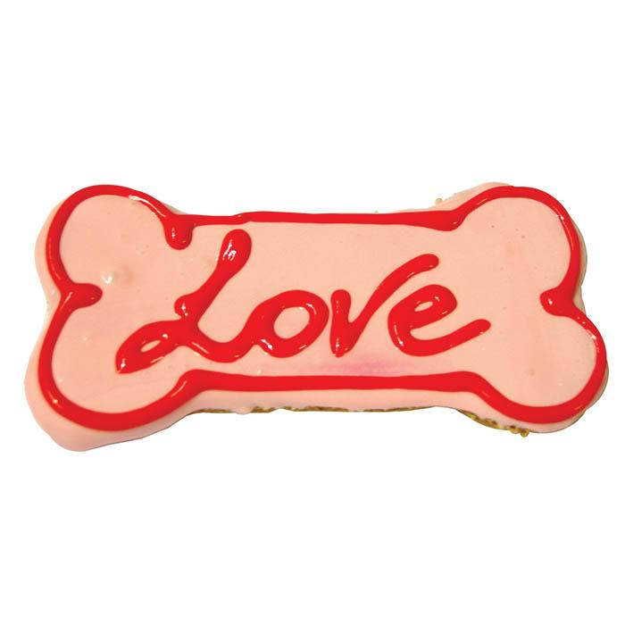 Huds and Toke - LOVE LARGE BONE COOKIE 1pk - Click to enlarge