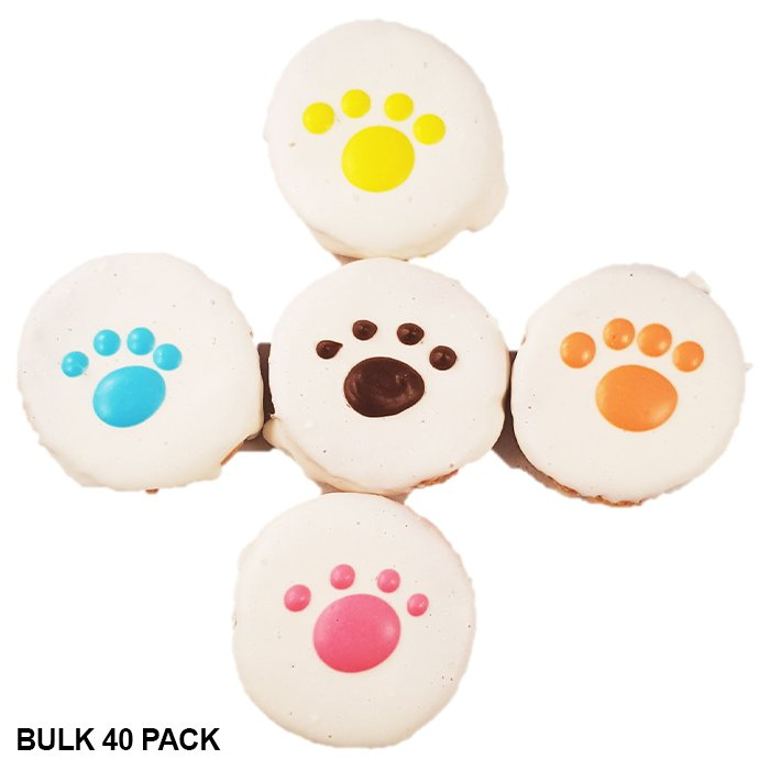 Huds and Toke - CHEESY PAWS BULK 40pk - 4.5cm - Click to enlarge