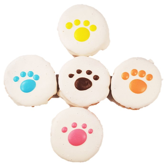 Huds and Toke - CHEESY PAWS 4pk - 4.5cm - Click to enlarge