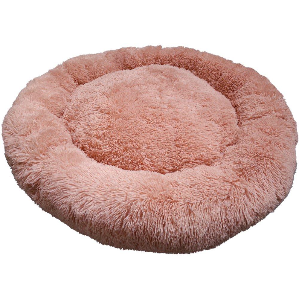 Prestige SNUGGLE BUDDIES CALMING CUDDLER BED - Pink 100cm - Click to enlarge