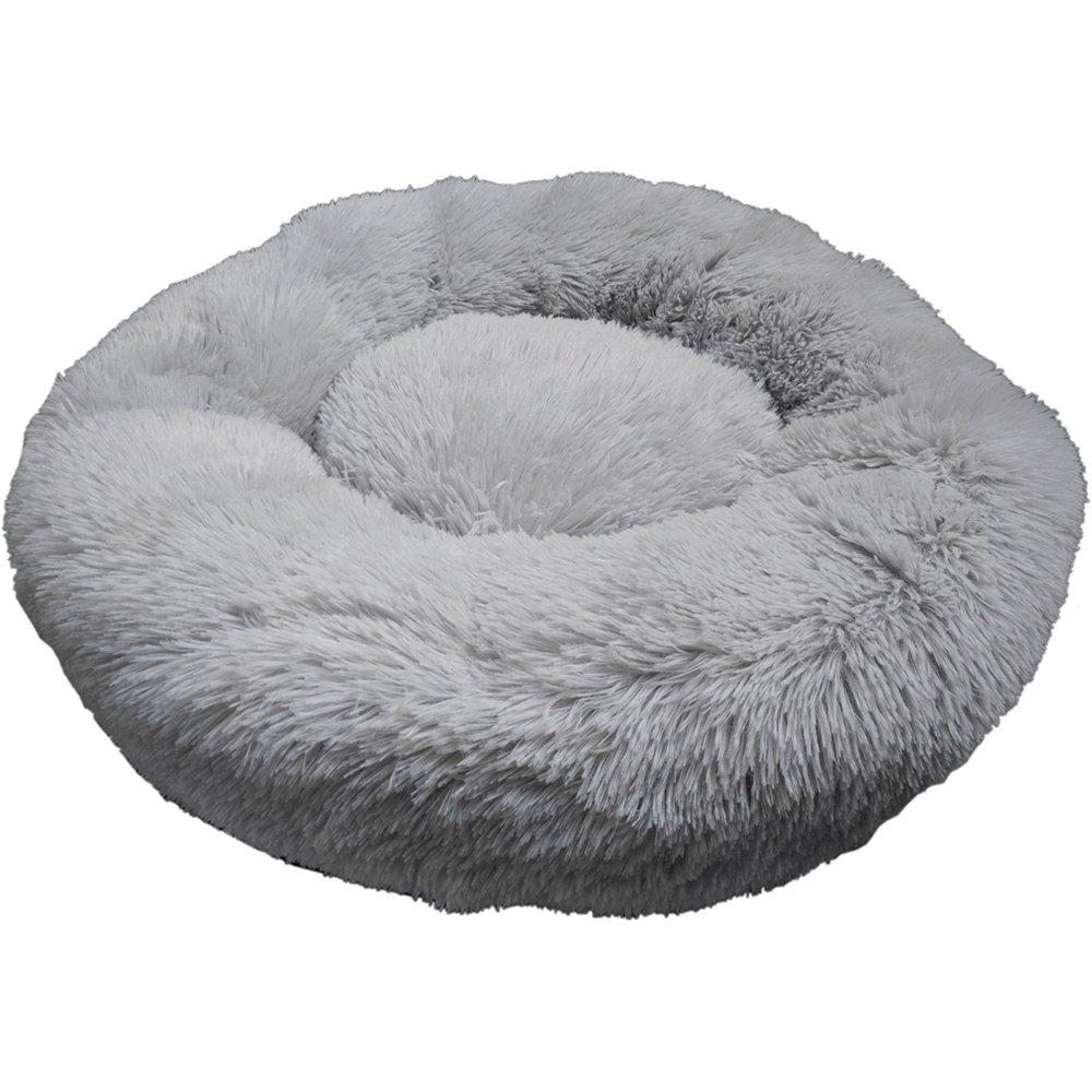 Prestige SNUGGLE BUDDIES CALMING CUDDLER BED - Grey 60cm - Click to enlarge