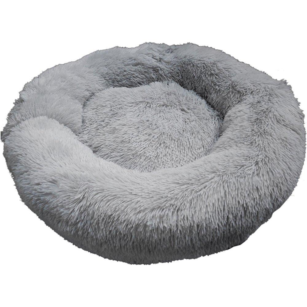 Prestige SNUGGLE BUDDIES CALMING CUDDLER BED - Grey 80cm - Click to enlarge