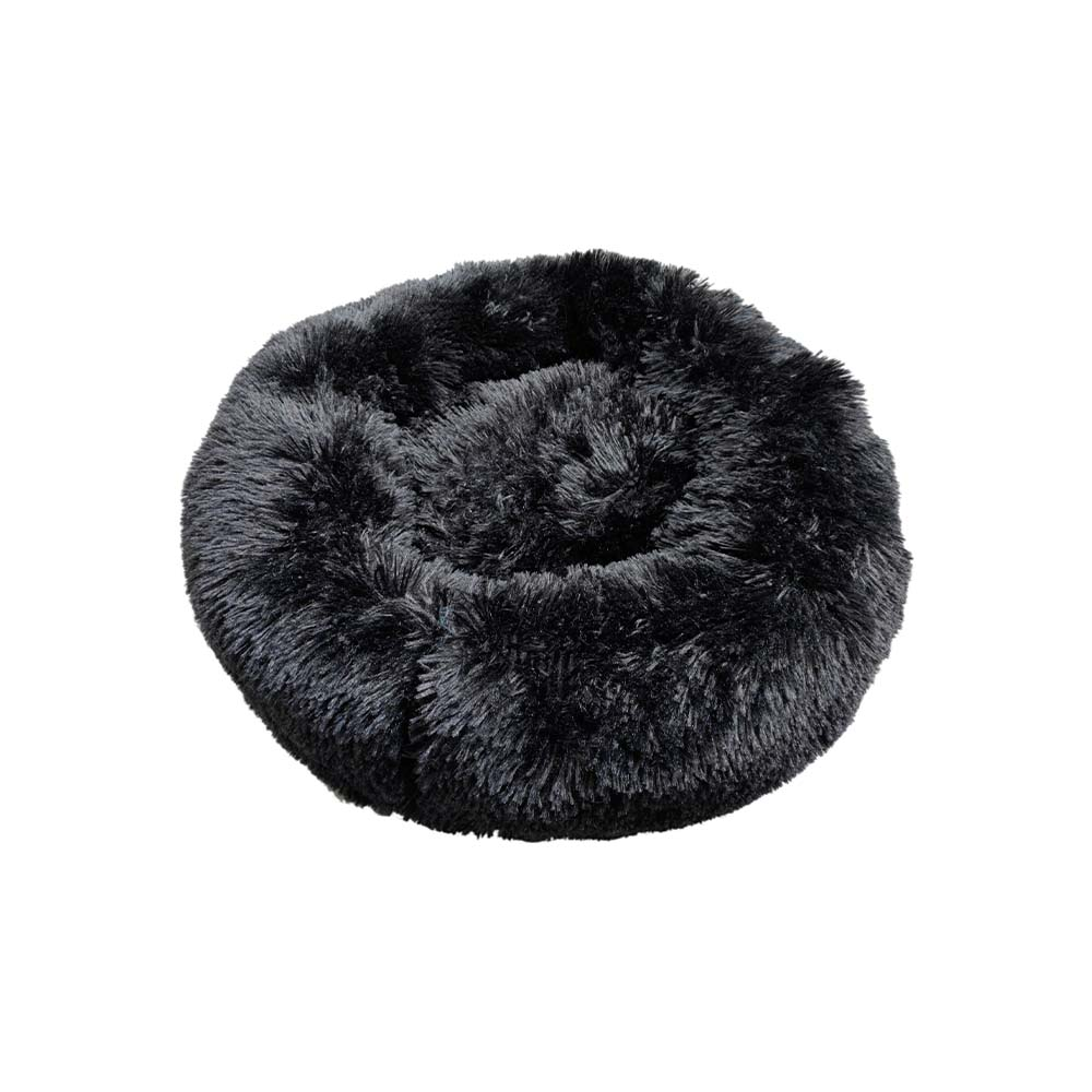 Prestige SNUGGLE BUDDIES CALMING CUDDLER BED - Black 60cm - Click to enlarge