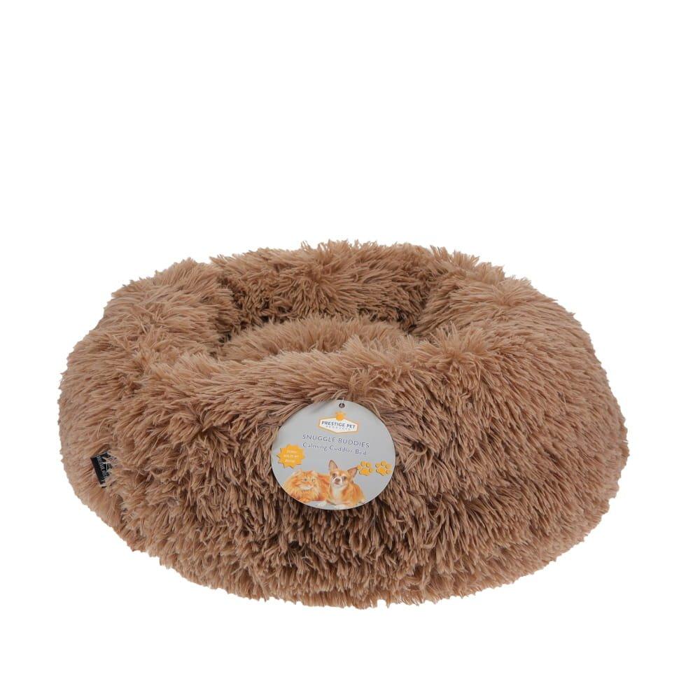 Prestige SNUGGLE BUDDIES CALMING CUDDLER BED - Brown 50cm - Click to enlarge