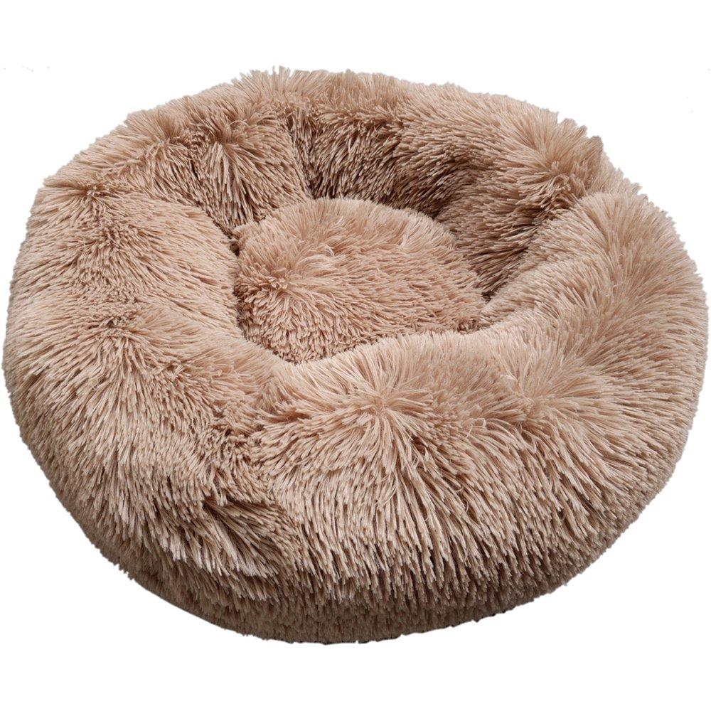 Prestige SNUGGLE BUDDIES CALMING CUDDLER BED - Brown 60cm - Click to enlarge