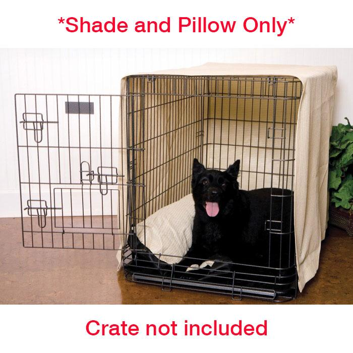 Coolaroo CRATE SHADE w/PILLOW XX-Large (cm 122L x 76 x 86H) - Click to enlarge