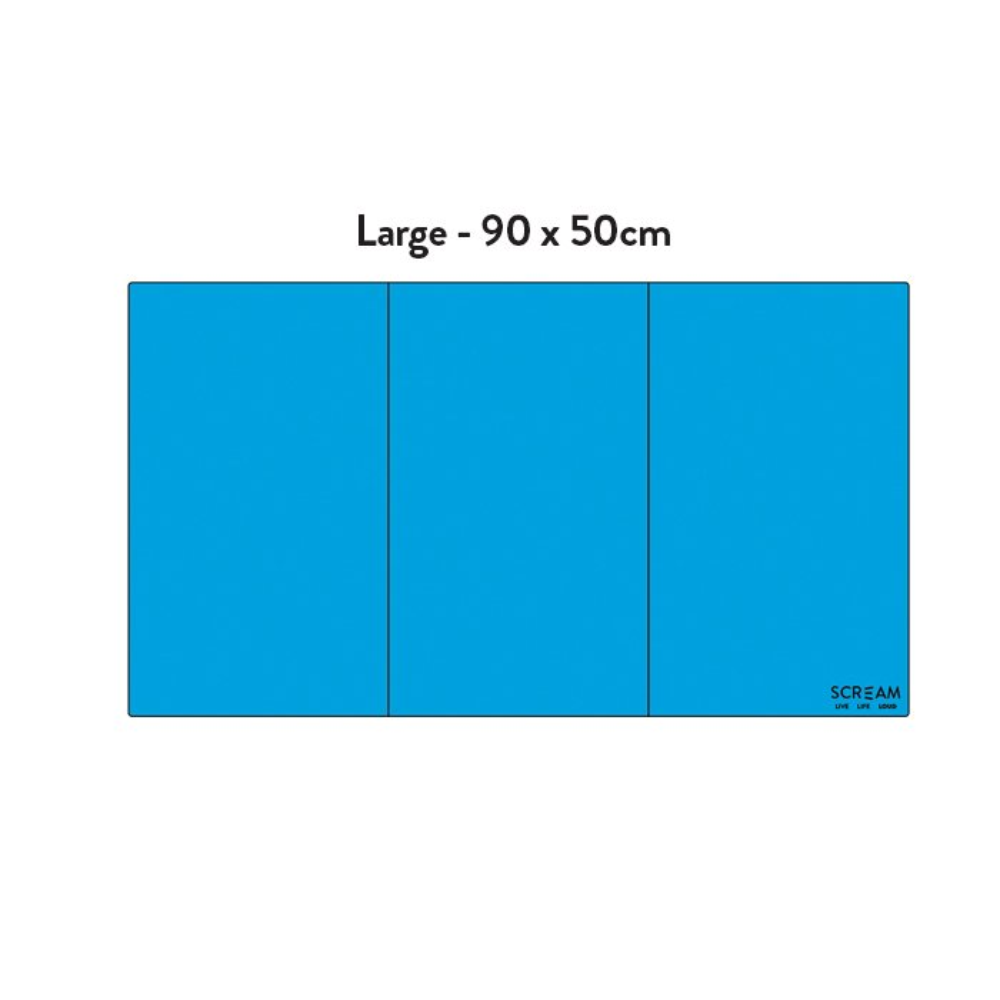 Scream COOL PAD Loud Blue Large 90 x 50cm