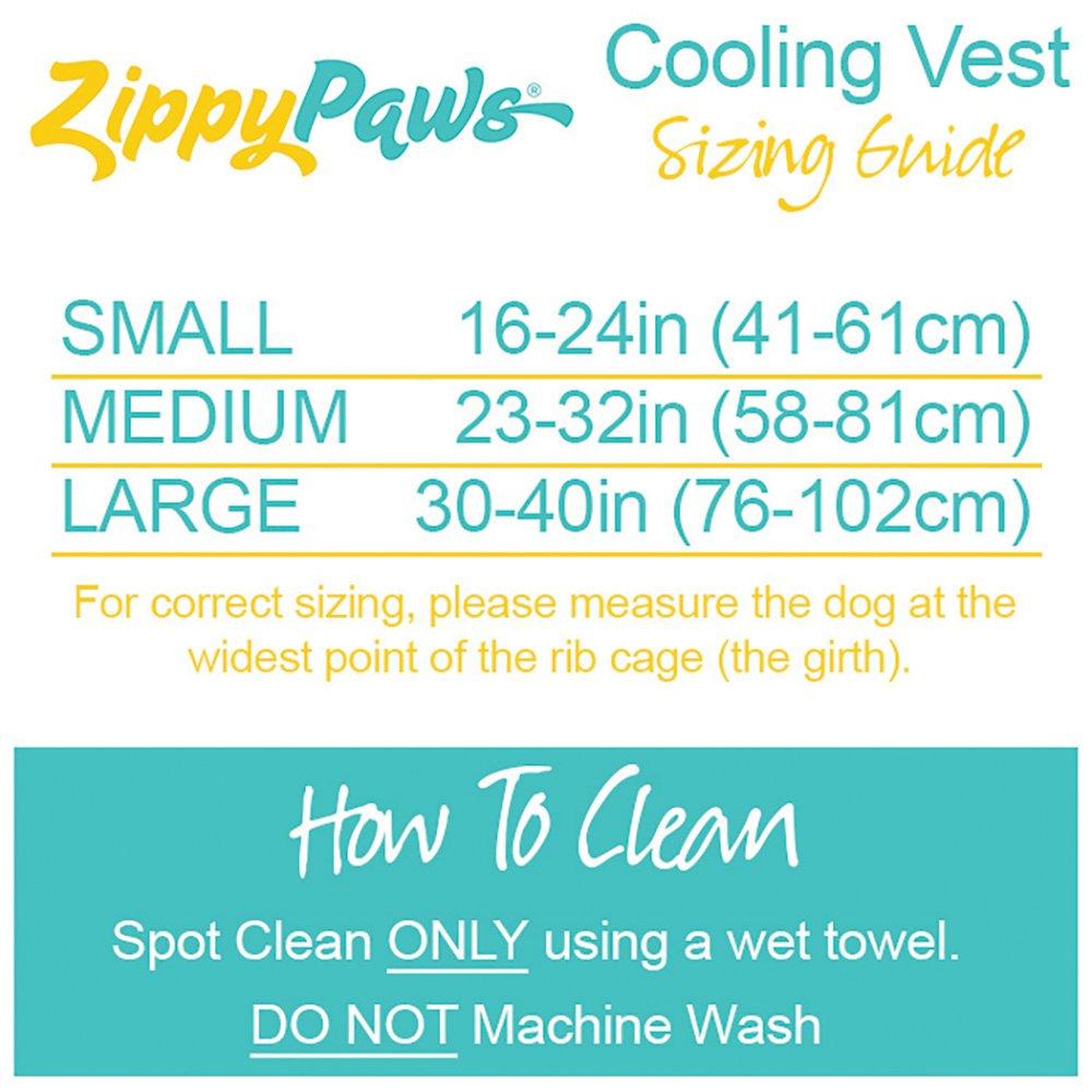 ZippyPaws - COOLING VEST Medium Blue (Girth Size: 58-81cm)