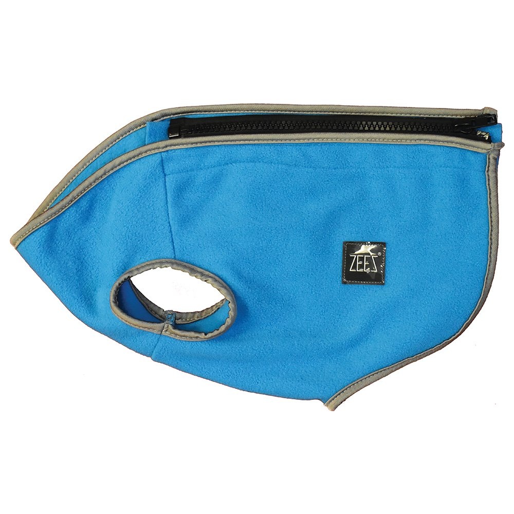 ZeeZ COZY FLEECE DOG VEST S1 (19cm) Arctic Blue - Click to enlarge