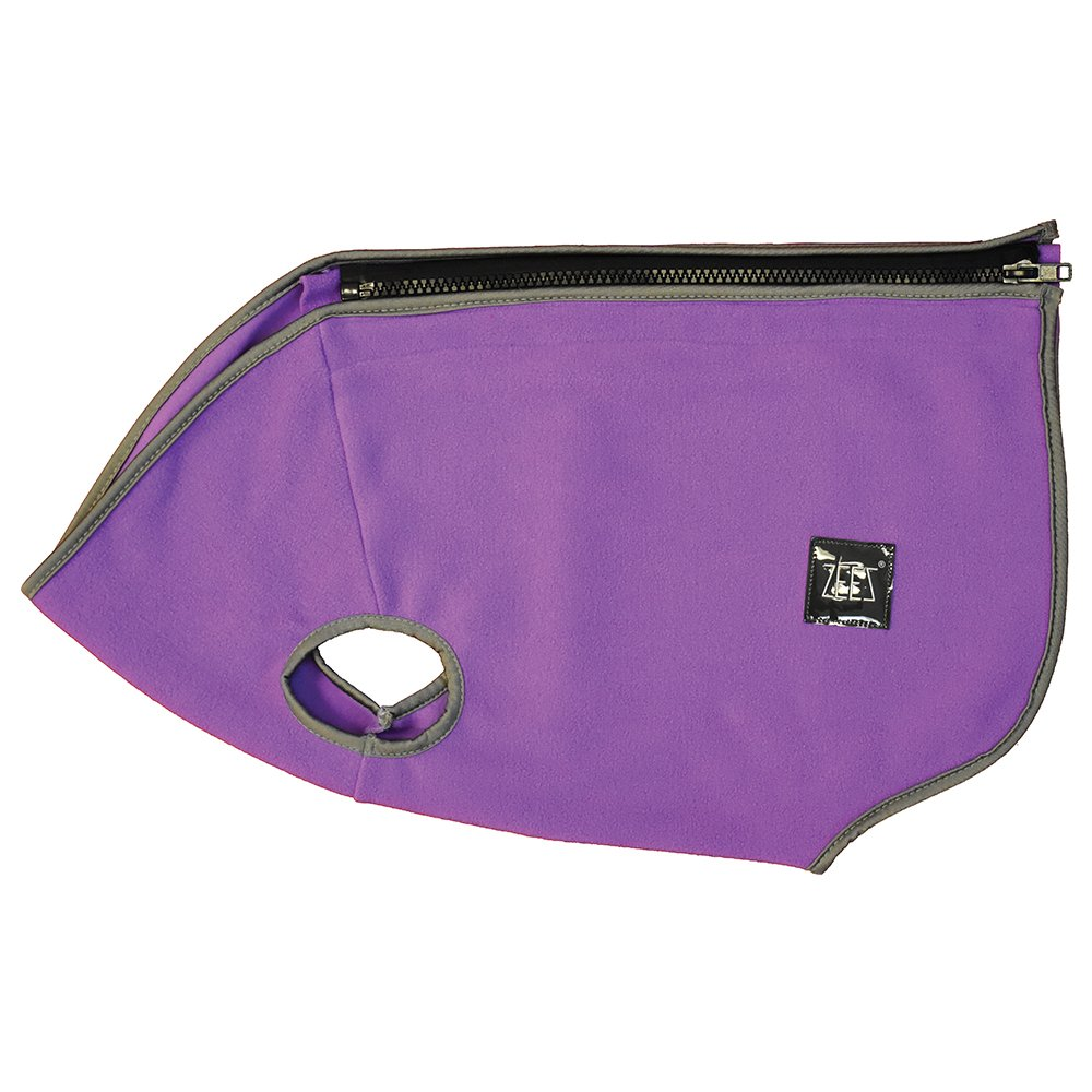 ZeeZ COZY FLEECE DOG VEST M2 (32cm) Pearly Purple - Click to enlarge