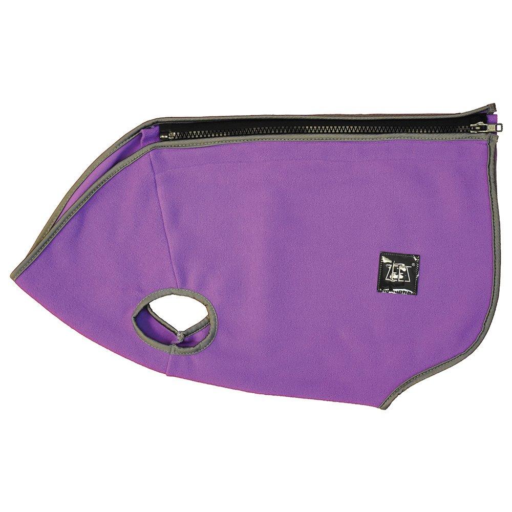 ZeeZ COZY FLEECE DOG VEST S3 (22cm) Pearly Purple - Click to enlarge