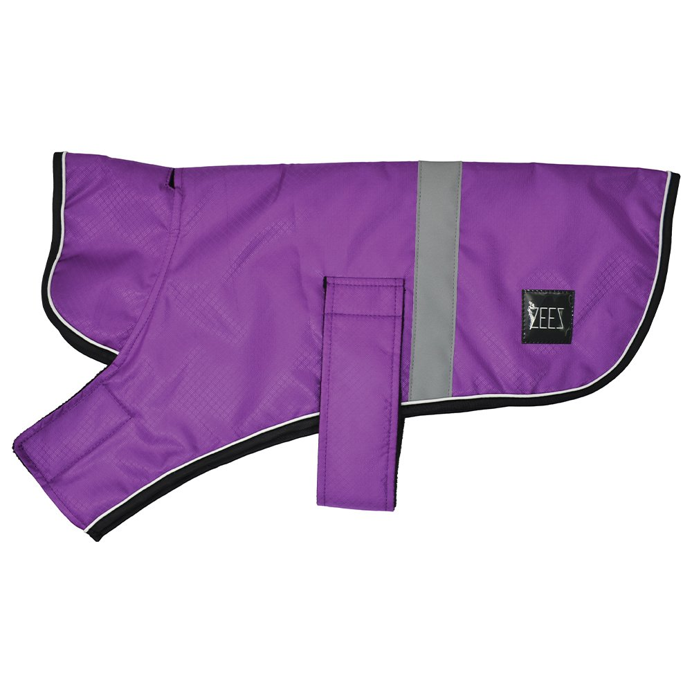 ZEEZ DAPPER DOG COAT Size 10 (25cm) Royal Purple - Click to enlarge