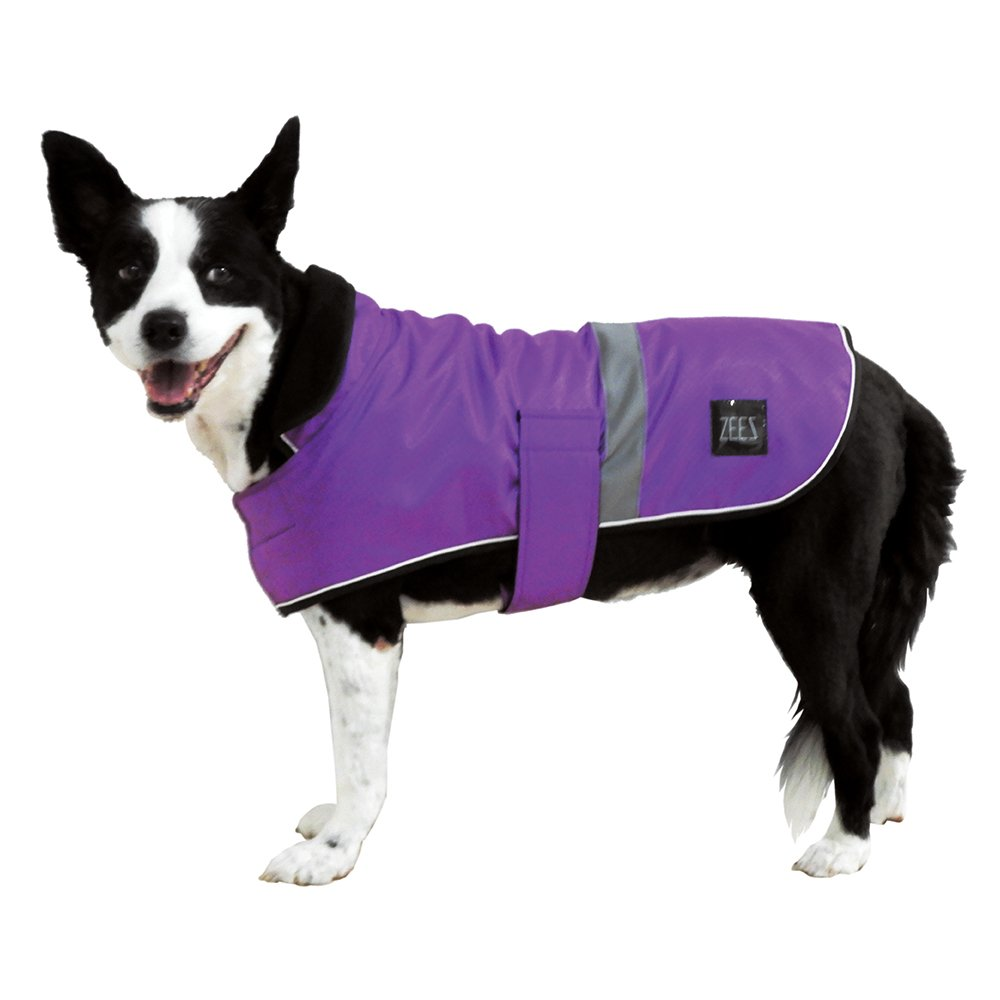 ZEEZ DAPPER DOG COAT Size 18 (46cm) Royal Purple