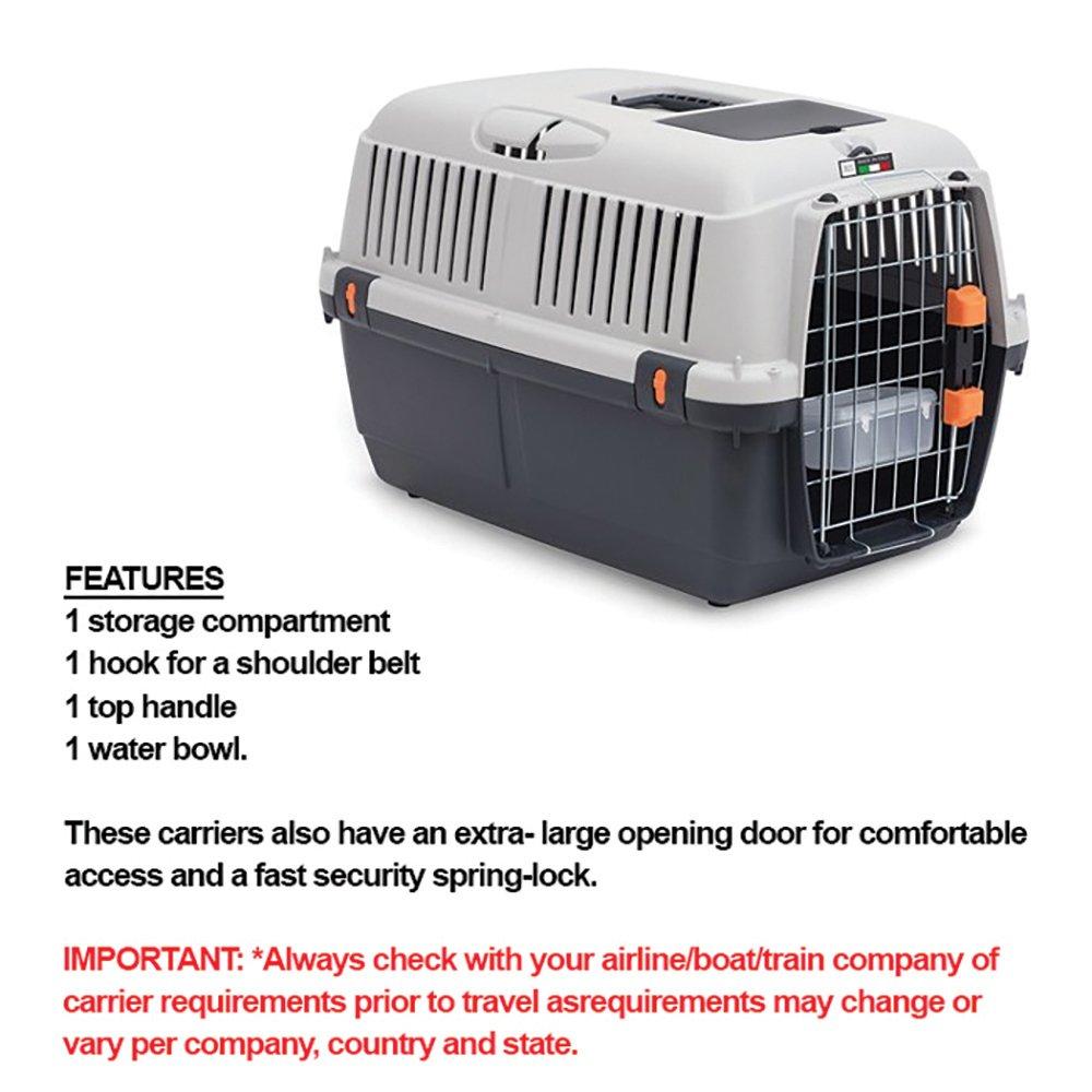 ZEEZ BRACCO TRAVEL 3 - PET CARRIER 60x40x38.5cm