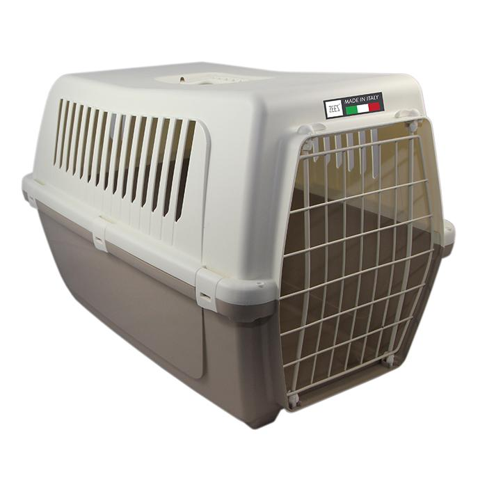 ZEEZ VISION CLASSIC 50 - PET CARRIER 48x32x33cm Mocaccino - Click to enlarge