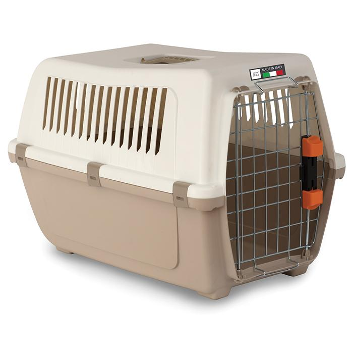 ZEEZ VISION TRAVEL 50 - PET CARRIER 48x32x33cm Mocaccino - Click to enlarge