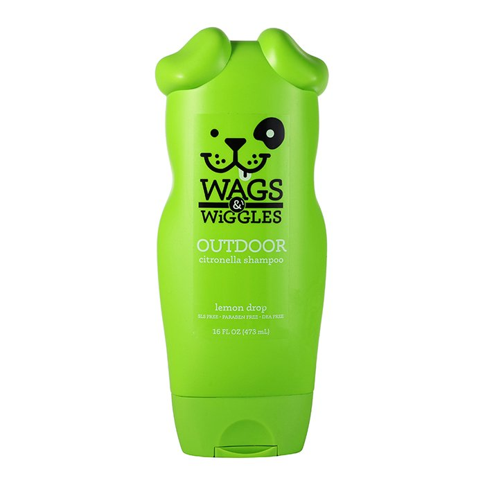 Wags & Wiggles OUTDOOR CITRONELLA SHAMPOO - Lemon 473ml - Click to enlarge