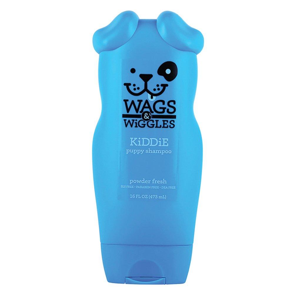 Wags & Wiggles KIDDIE PUPPY SHAMPOO - Powder Fresh 473ml - Click to enlarge
