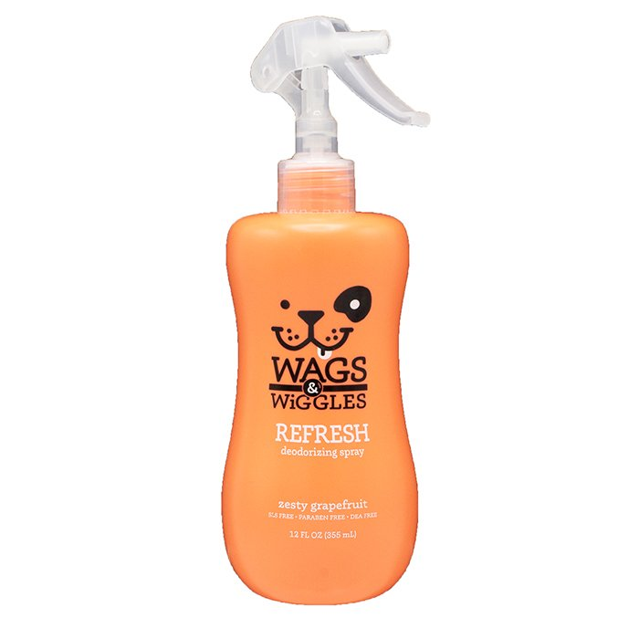 Wags & Wiggles DEODORIZING SPRAY - Grapefruit 355ml - Click to enlarge
