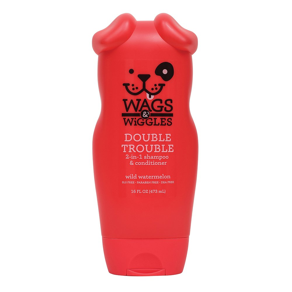 Wags & Wiggles 2-in-1 SHAMPOO & CONDITIONER 473ml - Click to enlarge