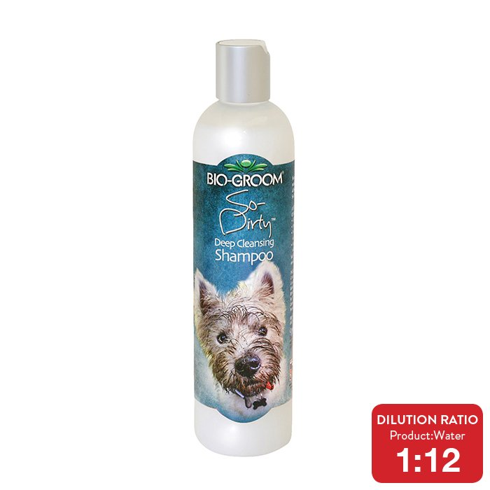 Bio-Groom SO-DIRTY DEEP CLEANSING SHAMPOO 355ml - Click to enlarge