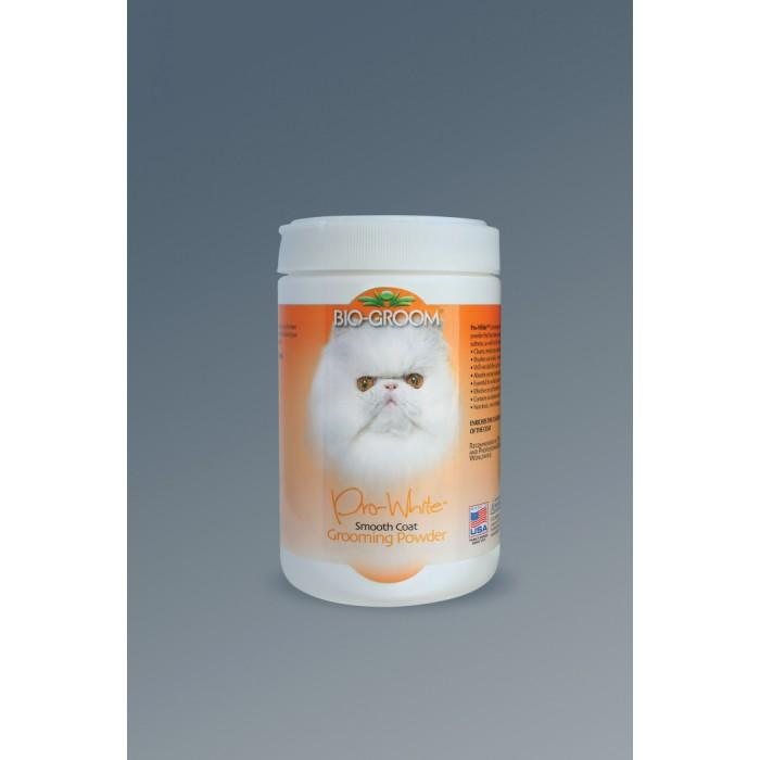 Bio-Groom PRO WHITE SMOOTH GROOMING POWDER 170 Grams - Click to enlarge