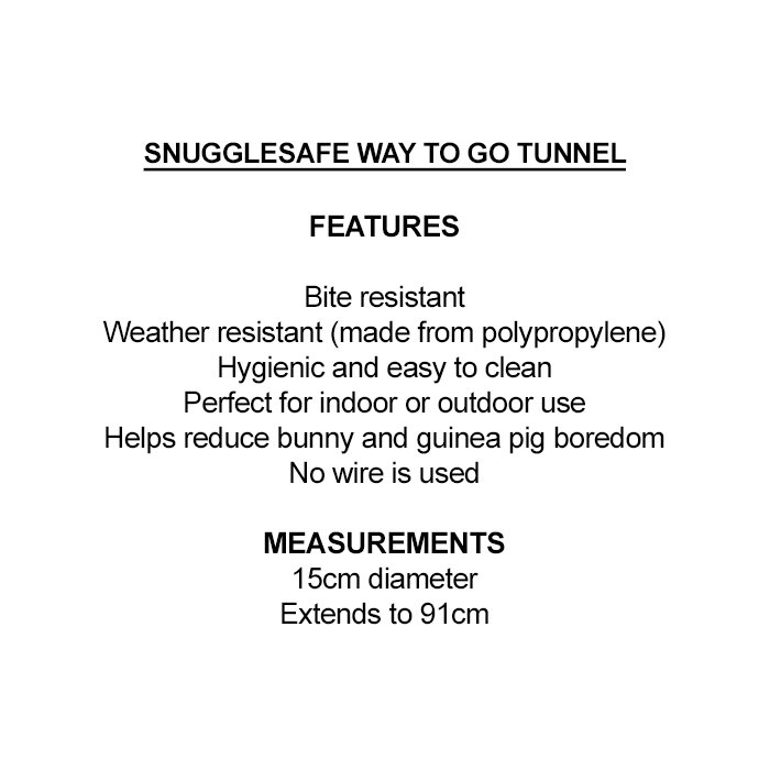 Snugglesafe WAY-TO-GO TUNNEL